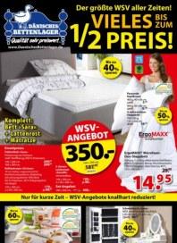 Dänisches Bettenlager Der größte WSV aller Zeiten Januar 2016 KW53