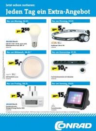 Conrad Electronic Jeden Tag ein Extra-Angebot Januar 2016 KW01