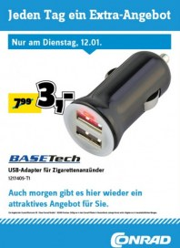 Conrad Electronic Jeden Tag ein Extra-Angebot Januar 2016 KW02 7