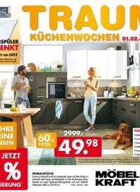 Möbel Kraft Traum-Küchenwochen Januar 2016 KW04