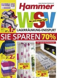 Hammer WSV Lagerräumung - Endspurt Februar 2016 KW05