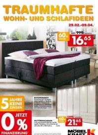 Möbel Kraft Traumhafte Wohn- und Schlafideen Februar 2016 KW08