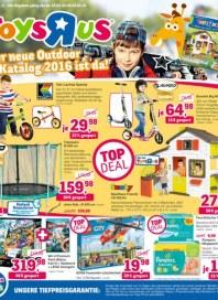 Toys''R''Us Der neue Outdoor Katalog 2016 ist da Februar 2016 KW08
