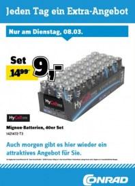 Conrad Electronic Jeden Tag ein Extra-Angebot März 2016 KW10 2