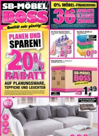 SB Möbel Boss Planen und sparen März 2016 KW10