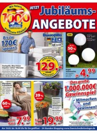Dänisches Bettenlager Jetzt Jubiläums-Angebote März 2016 KW10