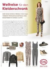 C&A Weltreise für den Kleiderschrank März 2016 KW11