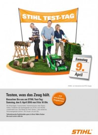 Stihl Test-Tag April 2016 KW14