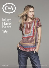 C&A Must Have Bluse März 2016 KW11