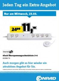 Conrad Electronic Jeden Tag ein Extra-Angebot März 2016 KW12 3