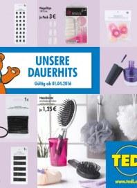 Tedi GmbH & Co. KG Unsere Dauerhits April 2016 KW13