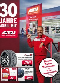 A.T.U Auto Teile Unger 30 Jahre mobil mit A.T.U April 2016 KW13