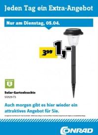 Conrad Electronic Jeden Tag ein Extra-Angebot April 2016 KW14 2