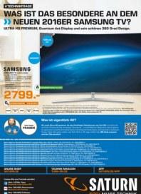 Saturn Was ist das Besondere an dem neuen 2016er Samsung TV April 2016 KW14