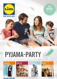Lidl Pyjama-Party April 2016 KW16