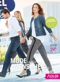 Adler Mode ist für Menschen da April 2016 KW16