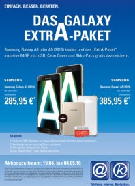 aetka Das Galaxy ExtrA-Paket April 2016 KW16