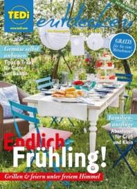 Tedi GmbH & Co. KG Endlich Frühling April 2016 KW16