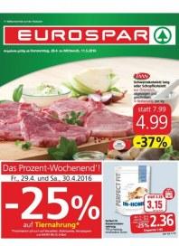 EUROSPAR EUROSPAR Angebote 28.04 - 11.05.2016 April 2016 KW17
