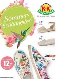 K+K Schuh-Center Sommer - Schönheiten Mai 2016 KW18
