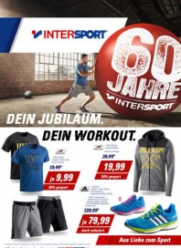 Intersport Dein Jubiläum. Dein Workout Juni 2016 KW22