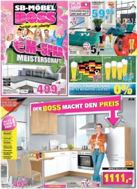 SB Möbel Boss Der Boss macht den Preis Juni 2016 KW22