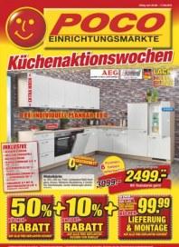POCO Küchenaktionswochen Juni 2016 KW22