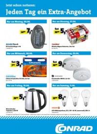 Conrad Electronic Jeden Tag ein Extra-Angebot Juni 2016 KW23