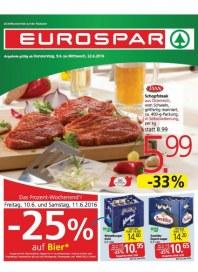 EUROSPAR EUROSPAR Angebote 09.06 - 22.06.2016 Juni 2016 KW23