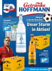Getränke Hoffmann Unser Sturm in Aktion Juni 2016 KW24