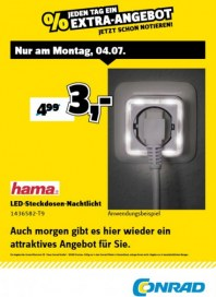 Conrad Electronic Jeden Tag ein Extra-Angebot Juli 2016 KW27 1