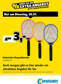 Conrad Electronic Jeden Tag ein Extra-Angebot Juli 2016 KW27 2