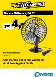 Conrad Electronic Jeden Tag ein Extra-Angebot Juli 2016 KW27 3