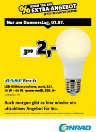 Conrad Electronic Jeden Tag ein Extra-Angebot Juli 2016 KW27 4