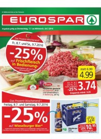 EUROSPAR EUROSPAR Angebote 07.07 - 20.07.2016 Juli 2016 KW27