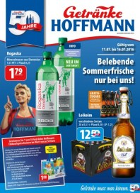 Getränke Hoffmann Belebende Sommerfrische nur bei uns Juli 2016 KW28