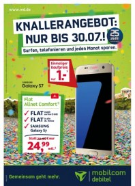 mobilcom-debitel Knallerangebot: Nur bis 30.07 Juli 2016 KW29