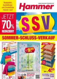 Hammer Sommer - Schluss - Verkauf Juli 2016 KW29 1