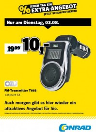 Conrad Electronic Jeden Tag ein Extra-Angebot August 2016 KW31 1