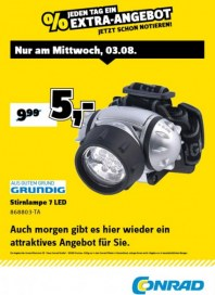 Conrad Electronic Jeden Tag ein Extra-Angebot August 2016 KW31 2