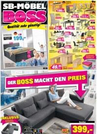 SB Möbel Boss Der Boss macht den Preis August 2016 KW31
