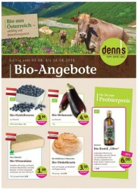 """Prospekte denns Biomarkt """"Wir sind Bio"""" Angebote Februar 2018 KW08"""
