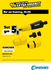 Conrad Electronic Jeden Tag ein Extra-Angebot August 2016 KW31 4