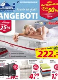 Dänisches Bettenlager Immer ein gutes Angebot August 2016 KW34