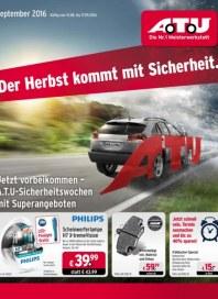 A.T.U Auto Teile Unger Der Herbst kommt mit Sicherheit August 2016 KW35