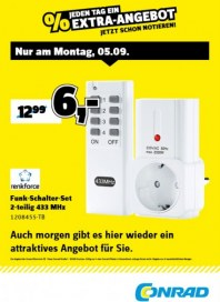 Conrad Electronic Jeden Tag ein Extra-Angebot September 2016 KW36 1