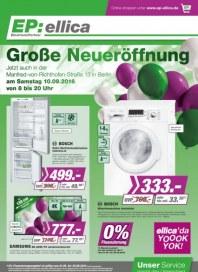 Electronic Partner (EP) Große Neueröffnung September 2016 KW36