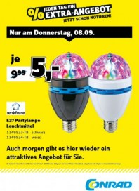 Conrad Electronic Jeden Tag ein Extra-Angebot September 2016 KW36 4