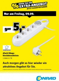 Conrad Electronic Jeden Tag ein Extra-Angebot September 2016 KW36 5