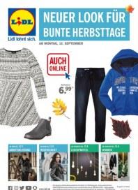 Lidl NEUER LOOK FÜR BUNTE HERBSTTAGE September 2016 KW37